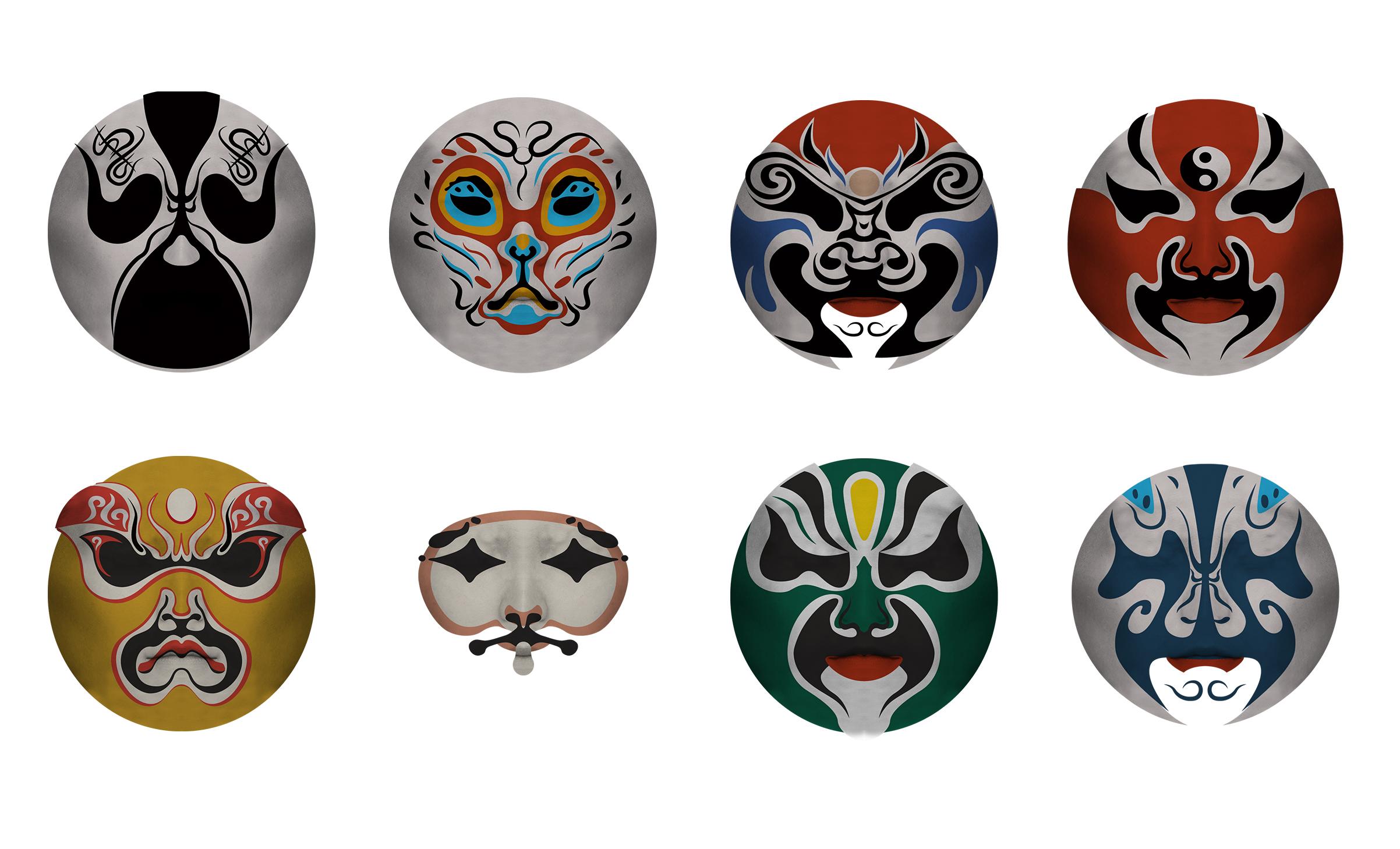 Chinese Opera Face Art